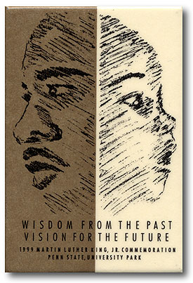 "Button: Theme: ""Wisdom From the Past Vision For the Future"" Designer: Nicole Lombardo"
